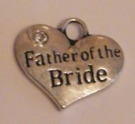 Father Of The Bride Bookmark - Beaded Style